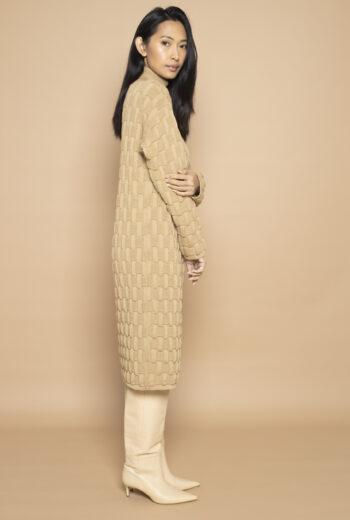 Knitted Dress Maari Sand