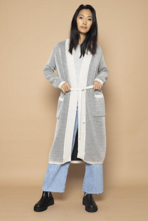 Belted waist Cardigan Mai