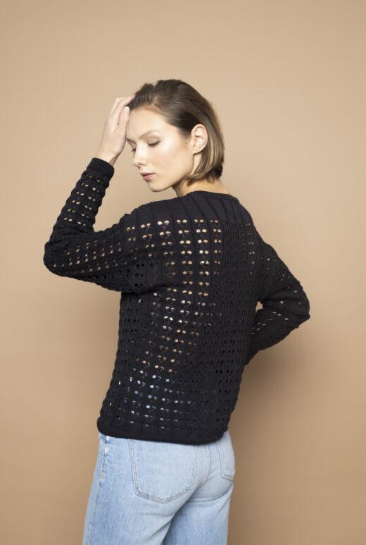 Organic cotton sweater Simona